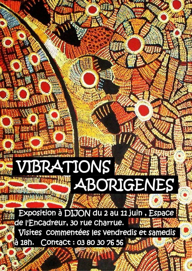 Galerie d'Art l'Encadreur Dijon -exposition aborigène