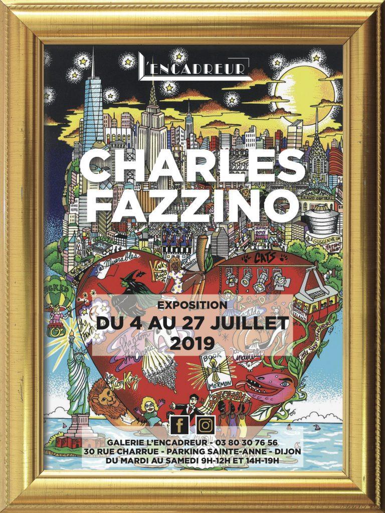 Charles Fazzino - Exposition 3D - L'Encadreur - Dijon