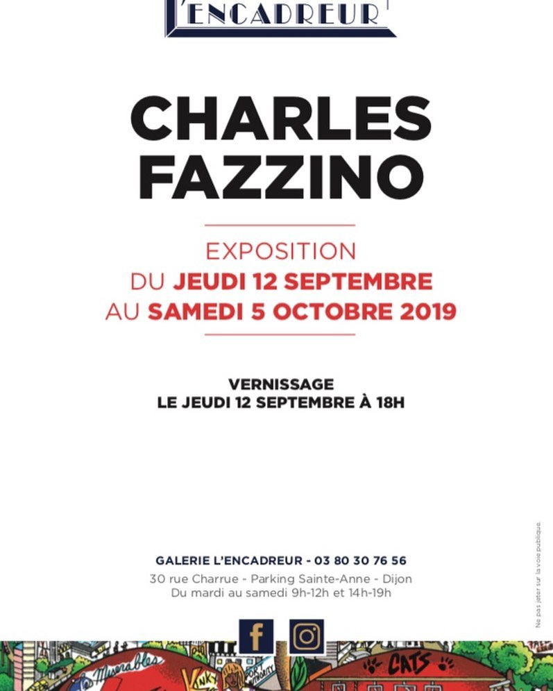 exposition Fazzino - L'Encadreur Dijon